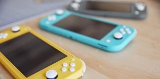 Switch Lite Kolory