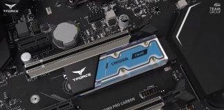 dysk SSD M.2 chłodzony cieczą