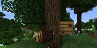 Minecraft Pszczoła