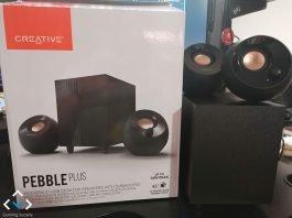 Creative Pebble Plus 4