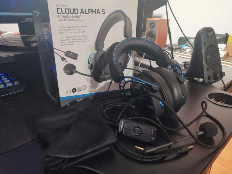 HyperX Cloud Alpha S – przepyszny, ale trochę odgrzany kotlet