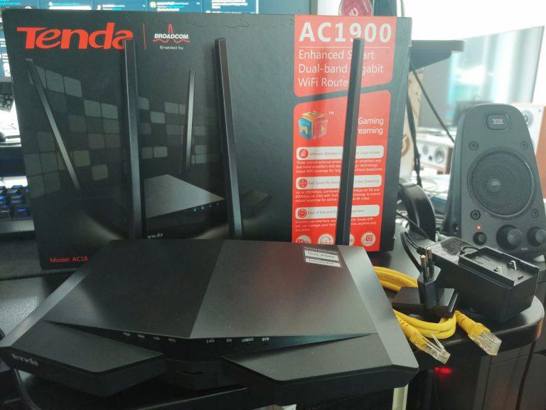Router Tenda AC18 1900 – dobre uzupełnienie sieci domowej [test]