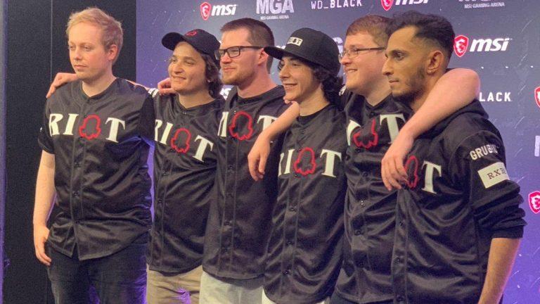 Riot Games oskarża organizację esportową o kradzież nazwy