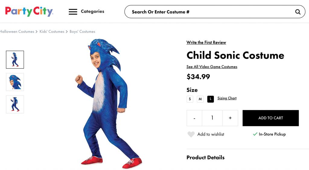 filmowy Sonic