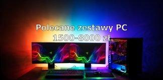 Polecane zestawy PC - grudzień 2019