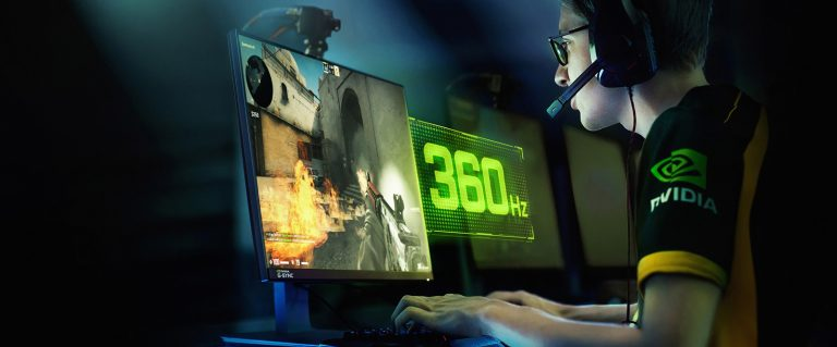 Nvidia zaprezentowała monitor z odświeżaniem 360 Hz. To najszybszy monitor na świecie