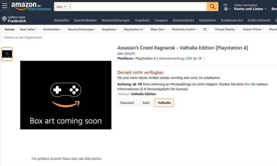 Assassin's Creed Ragnarok - Amazon.de