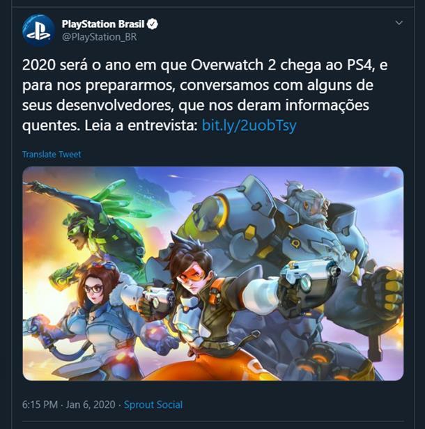 Premiera Overwatch 2 w 2020?