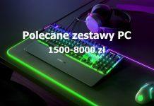 Polecane zestawy PC - styczeń 2020