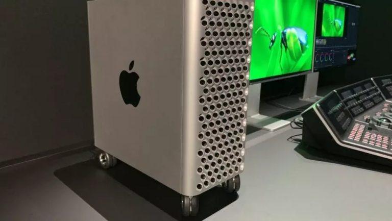 Mac Pro – kółka za 400 dolarów i to bez hamulca