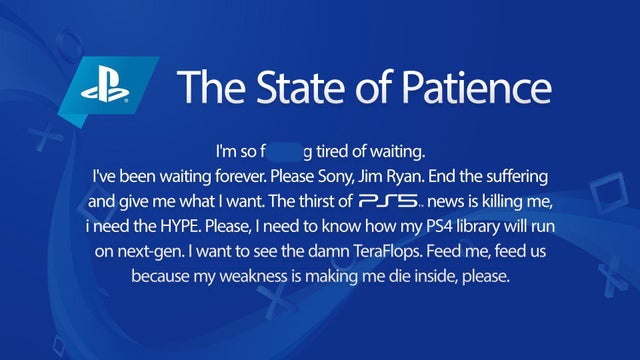 PlayStation 5 State of Patience
