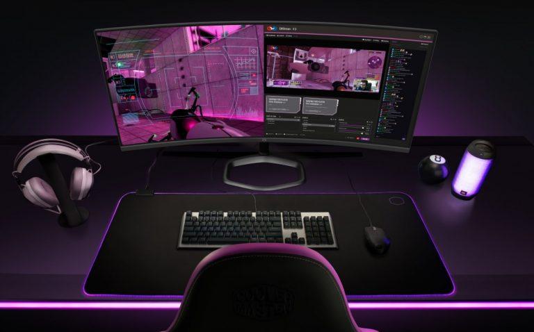 Cooler Master atakuje rynek monitorów dla graczy. Oto model GM3-CW