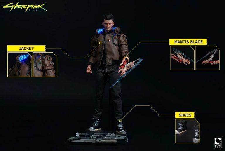 Cyberpunk 2077 – figurka z gry za prawie 900 złotych