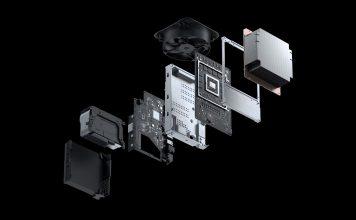 Xbox Series X - wnętrze