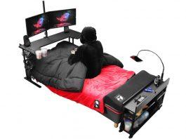 łóżko dla gracza
