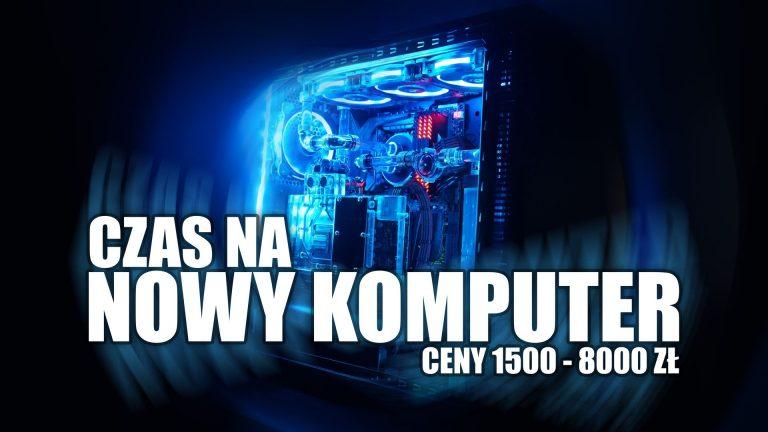 Polecane zestawy komputerowe od 1500 do 8000 zł – kwiecień 2020