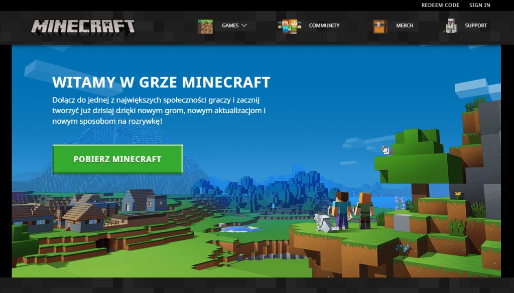 Minecraft Jak pobrać