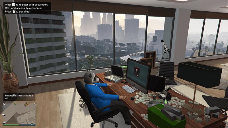 GTA 5 CEO