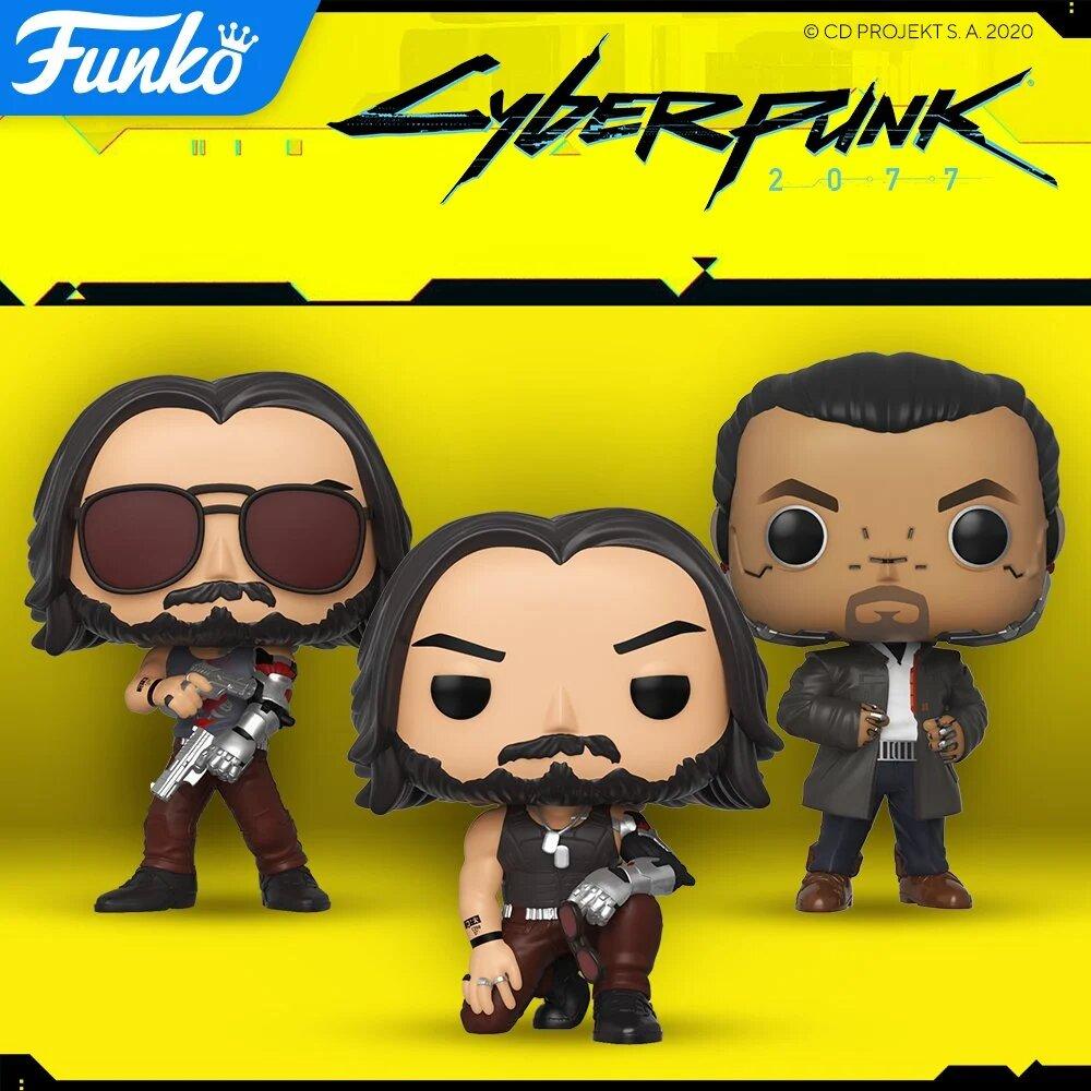 Cyberpunk 2077 - figurki Funko Pop!