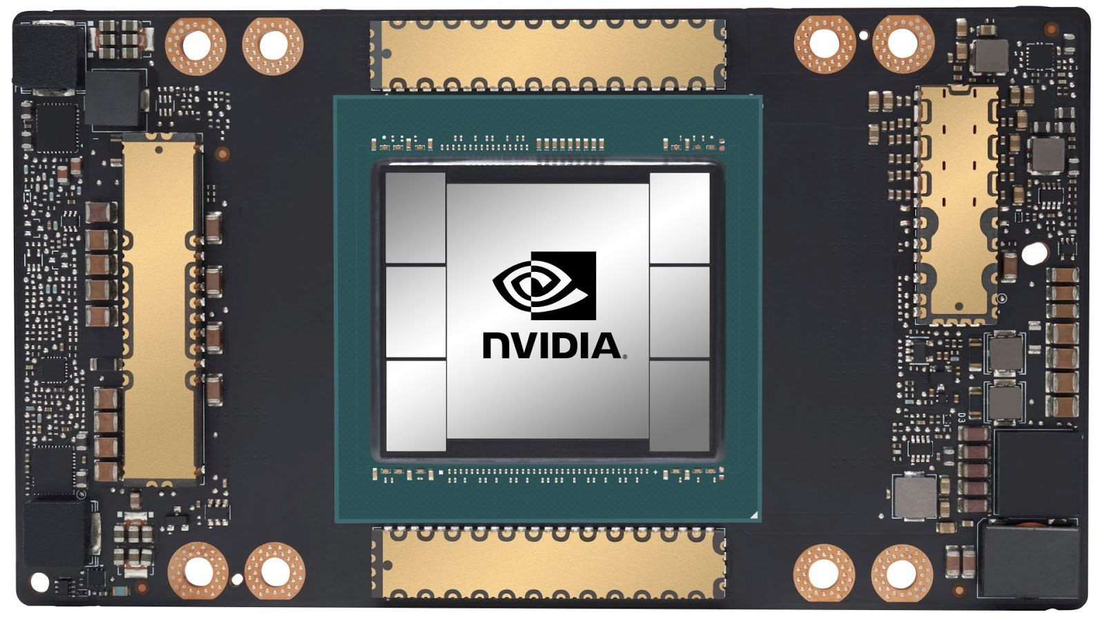 Nvidia Ampere A100 Front