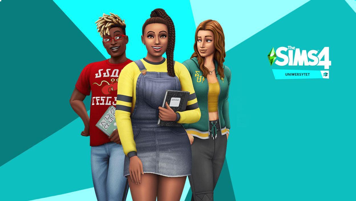the Sims 4 Uniwersytet
