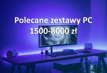 Polecane zestawy PC - maj 2020