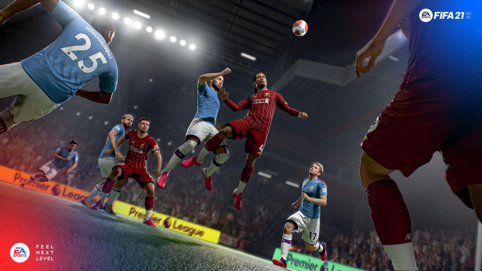 FIFA 21 - City vs Liverpool
