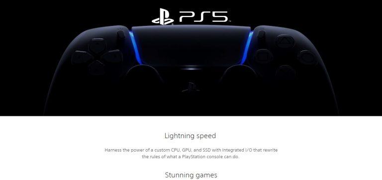PlayStation 5: Z angielskich stron znika informacja o premierze w święta