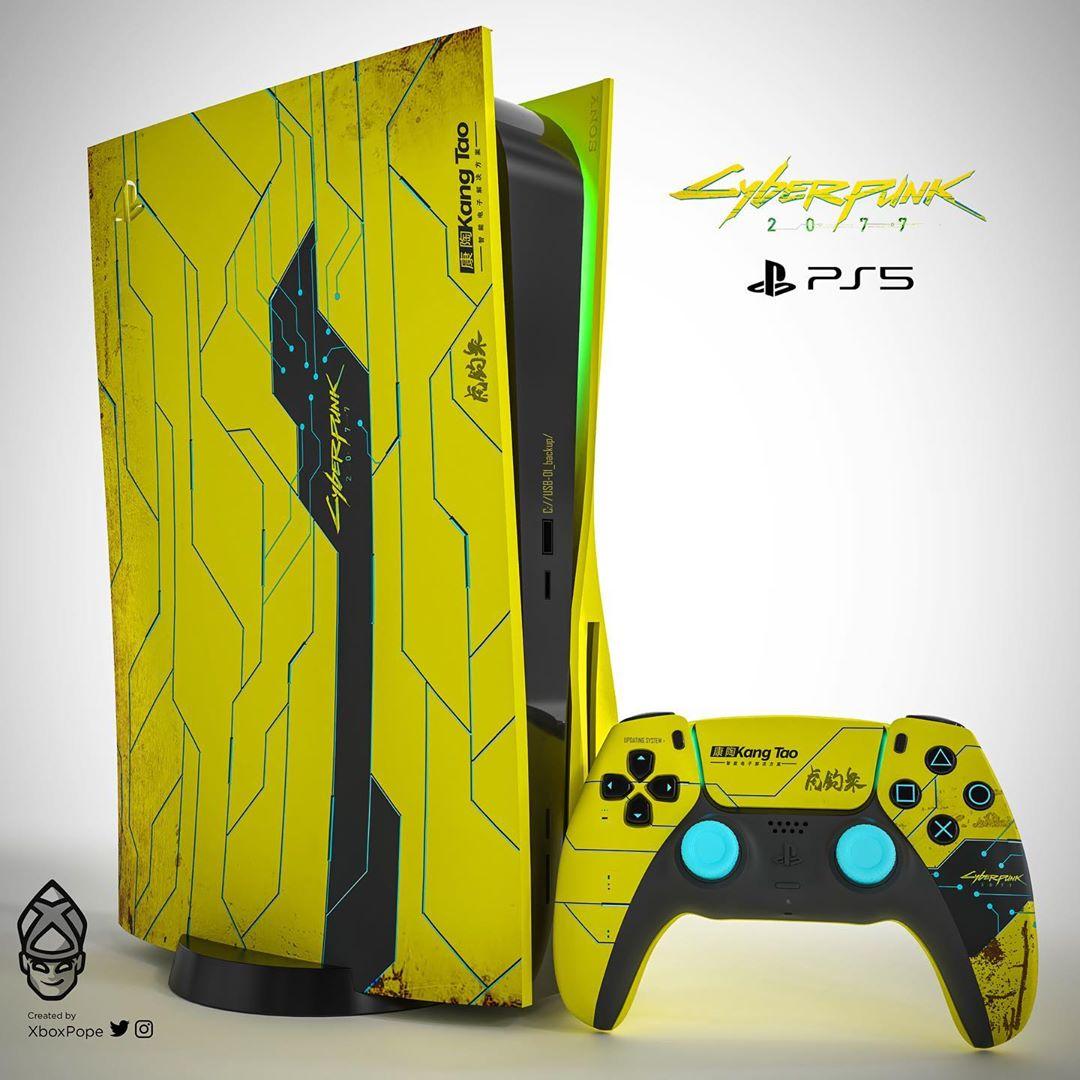 PlayStation 5 w wersji Cyberpunk 2077