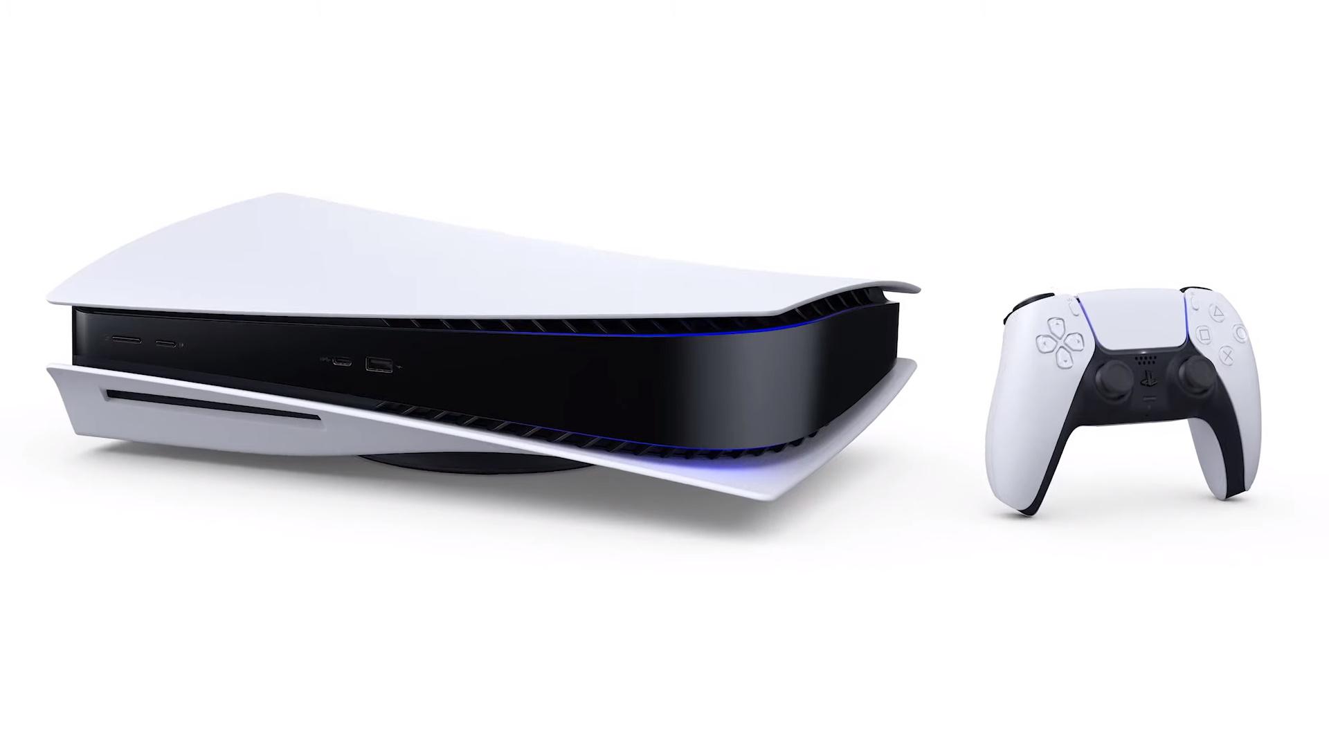 PlayStation 5 poziomo