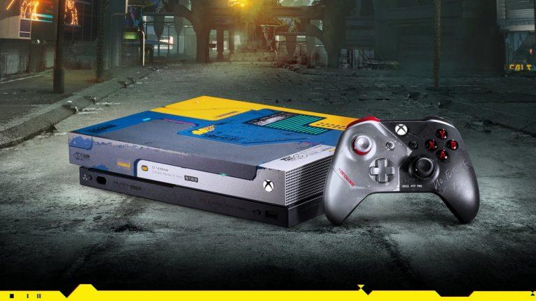 Xbox One X w wersji Cyberpunk 2077 w dobrej cenie [aktualizacja]