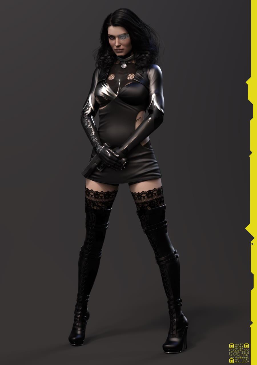 Cyberpunk 2077 - Yennefer