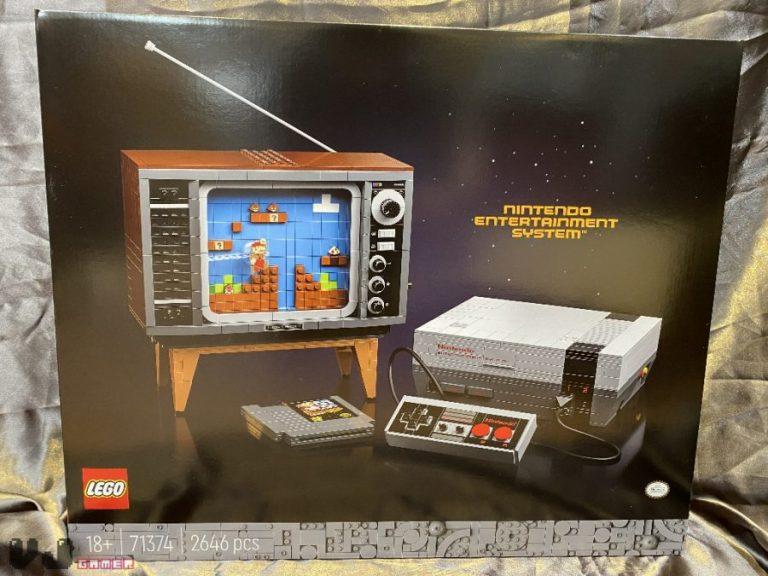 LEGO i Nintendo stworzyły konsolę NES LEGO