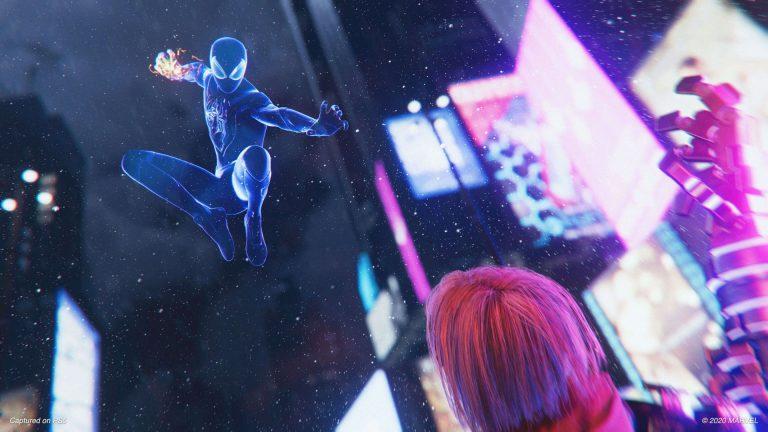 Spider-Man Miles Morales bez ekranów ładowania