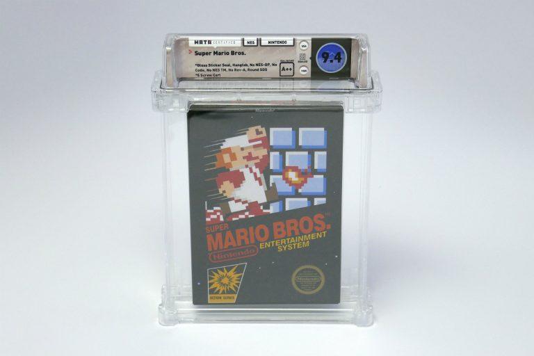 Super Mario Bros. – kopia gry gratką dla kolekcjonerów. Kosztuje majątek