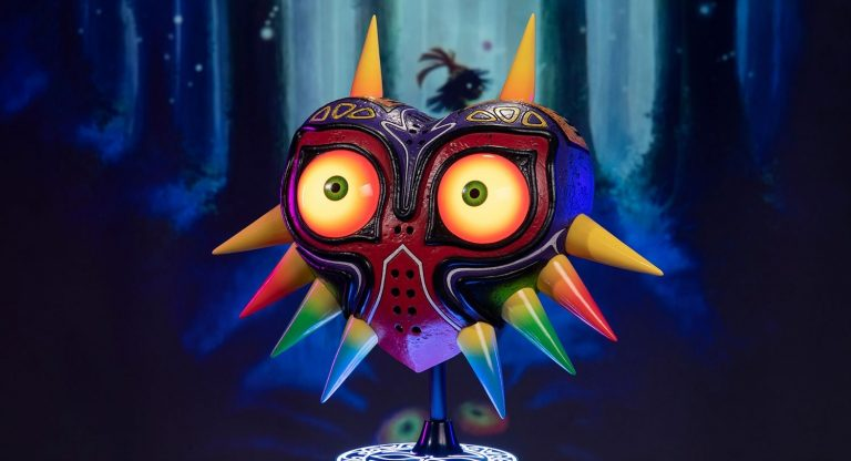 The Legend of Zelda Majora's Mask. Będziecie mogli nią straszyć kolegów