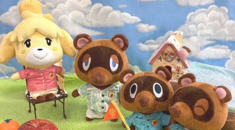 Animal Crossing: New Horizons postacie z gry jako urocze pluszaki