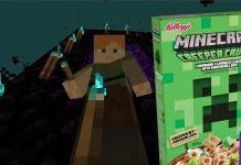 płatki Minecraft