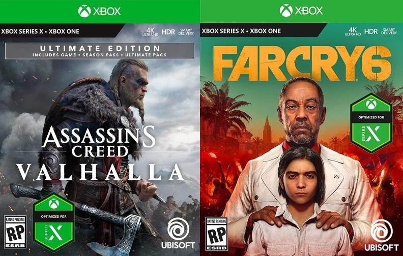 Xbox Series X - okładki gier