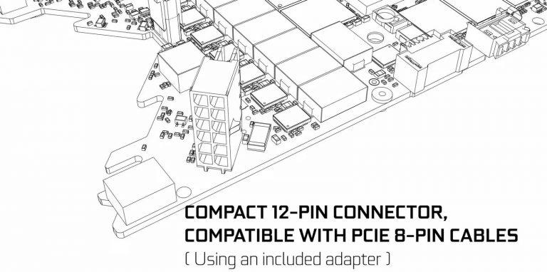 Nvidia potwierdza 12 pinowe złącze zasilania.