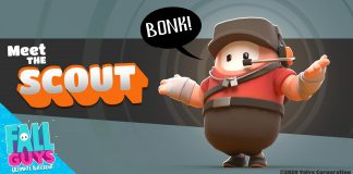 Fall Guys Team Fortress