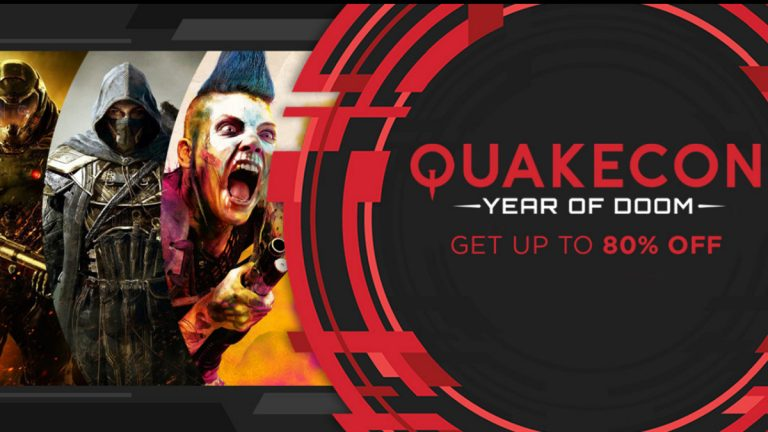 QuakeCon Sale – specjalna wyprzedaż Humble Bundle