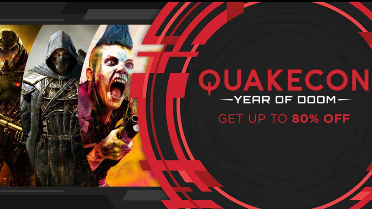 QuakeCon Sale - specjalna wyprzedaż Humble Bundle   Gaming Society