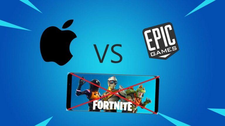 Apple usuwa konto deweloperskie Epic Games z App Store
