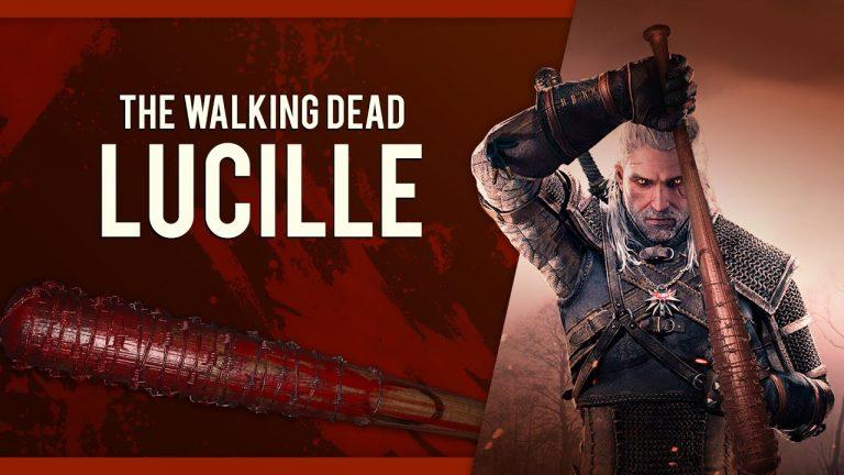 Wiedźmin 3 – Geralt jak Negan z The Walking Dead dzięki wyjątkowej broni