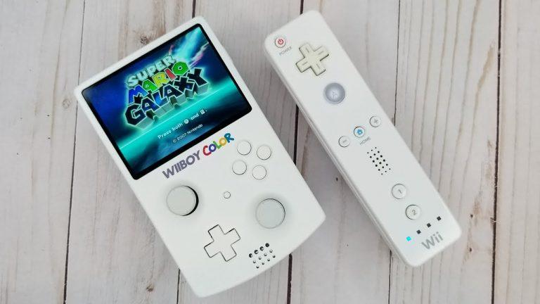 WiiBoy Color – Nintendo Wii wielkości Game Boy'a