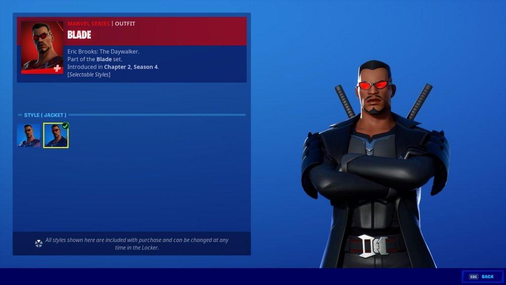 Blade Fortnite
