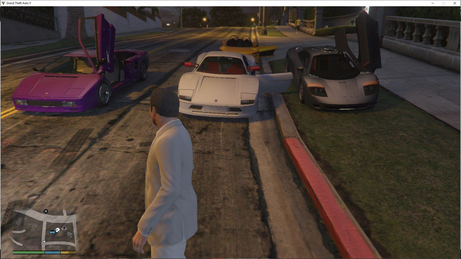 GTA V - Online vehicles in singleplayer