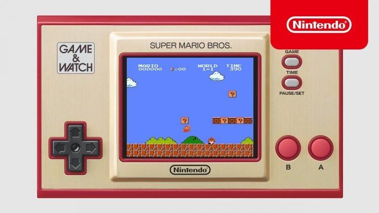 Super Mario Bros. trafi na konsolkę Game & Watch