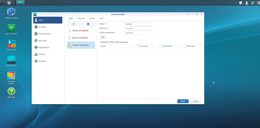 Synology RT2600ac Software